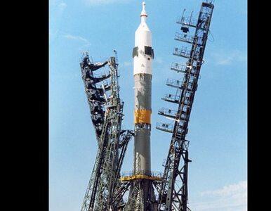 W piątek w kosmos wyleci rakieta Sojuz