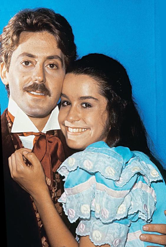 Edwin Luisi i Lucélia Santos