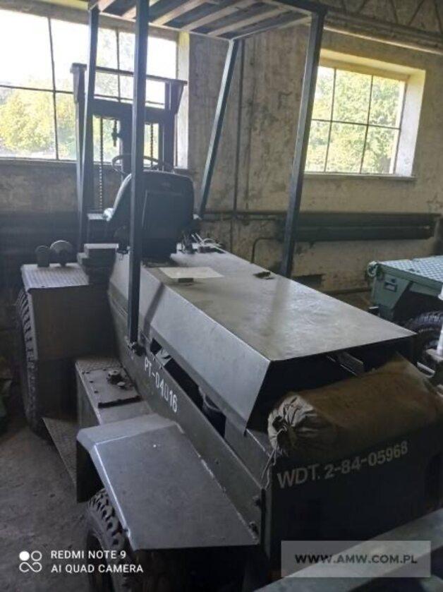 Sprzęt, który sprzedaje AMW