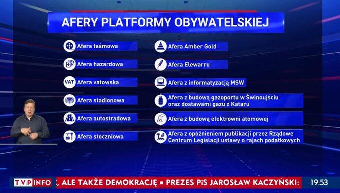 """""""Wiadomości"""" TVP z3 lipca 2021 roku"""