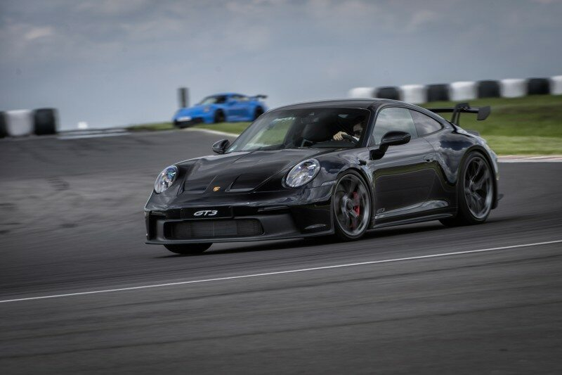 Porsche 911 GT3 na torze Silesia Ring