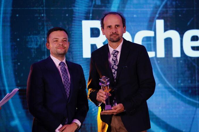 Roche znagrodą wkategorii Innowacja wfarmacji