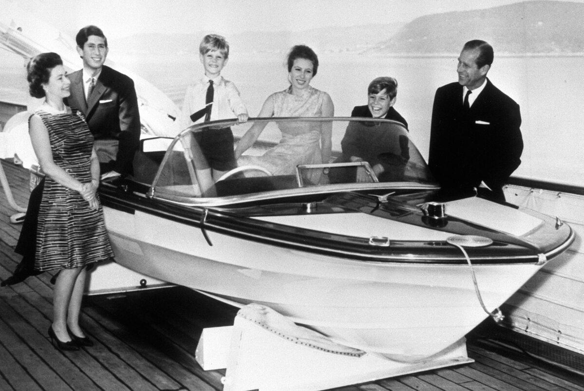 Książę Filip był odpowiedzialny za nadzór nad konstrukcją i projektem Royal Yacht Britannia