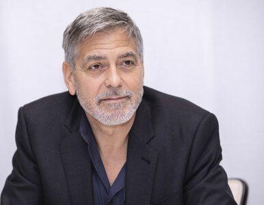 """Syn George'a Clooneya przerwał wywiad ojca. """"Masz czekoladę na buzi"""""""