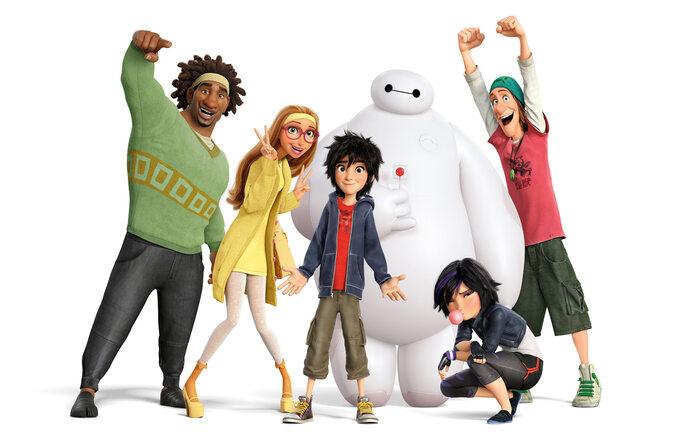 """Wielka szóstka """"Big Hero 6"""" (2014)"""