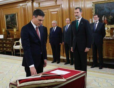 Ten gest nowego premiera oburzył część Hiszpanów. Pedro Sánchez złamał...