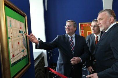 Galeria Jerzego Nowosielskiego w Pałacu Prezydenckim