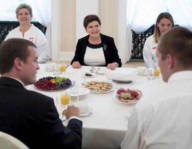 """Olimpijczycy u premier Szydło. """"Chcemy, żeby sport się rozwijał"""""""