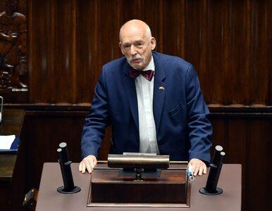 Korwin-Mikke: Gdyby rolnicy wysadzili budynek Ministerstwa Rolnictwa,...