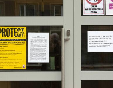 ZNP: Strajkuje ponad 74 proc. placówek. Jak jest w poszczególnych...