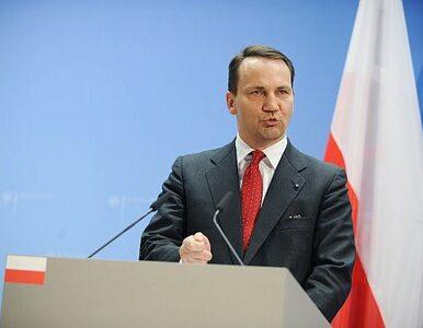 """Sikorski dziękuje Niemcom i Francji. """"Solidarność nadal dużo znaczy"""""""