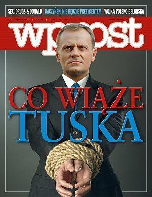 Okładka tygodnika Wprost nr 46/2007 (1299)