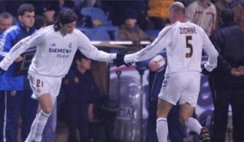 Panowie Zidane i Solari zmieniali się także na boisku