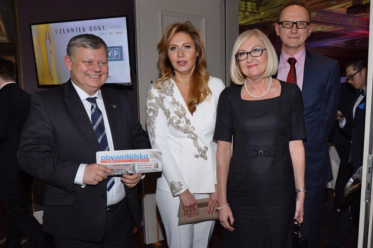 Marek Suski, Katarzyna Gintrowska i Joanna Kopcińska