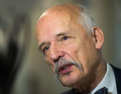 """Janusz Korwin-Mikke znów szokuje. Mówił o """"dziewczynach, które mają 12,..."""