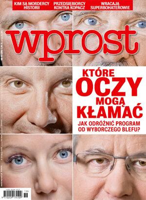 Okładka tygodnika Wprost nr 19/2015 (1678)