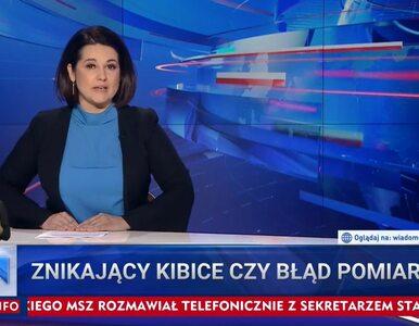 """Kuriozalny materiał """"Wiadomości"""". Dziennikarze poszukiwali """"zgubionych""""..."""
