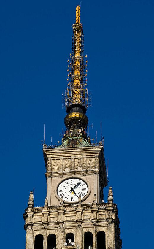 Wieża i zegar PKiN