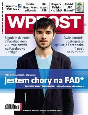 Okładka tygodnika Wprost nr 18/2010 (1421)