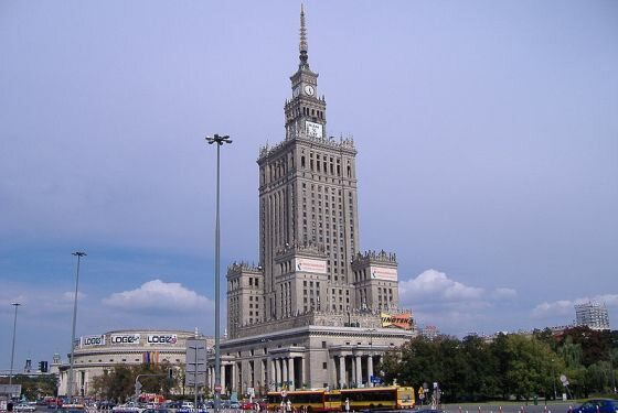 Pałac Kultury - siedziba Collegium Civitas (fot. Wikipedia)