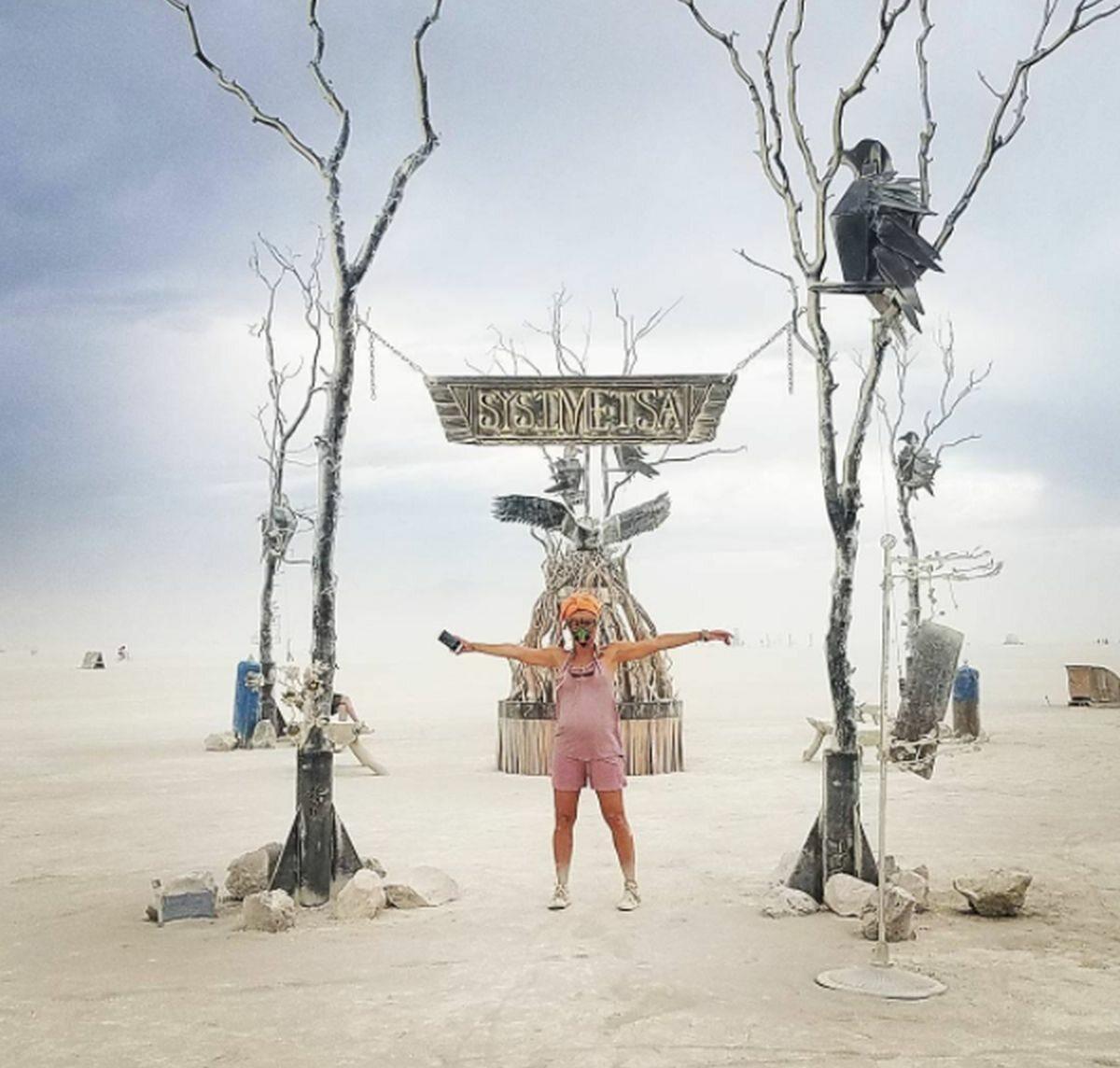 Instalacja na Burning Man 2017
