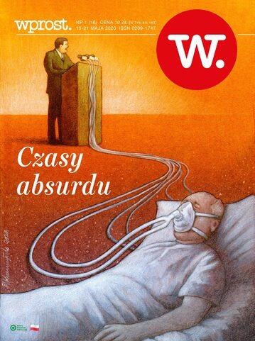Okładka tygodnika Wprost nr 16/2020 (1932)