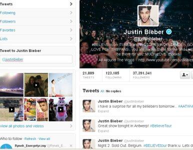 Co drugi fan Biebera... nie istnieje