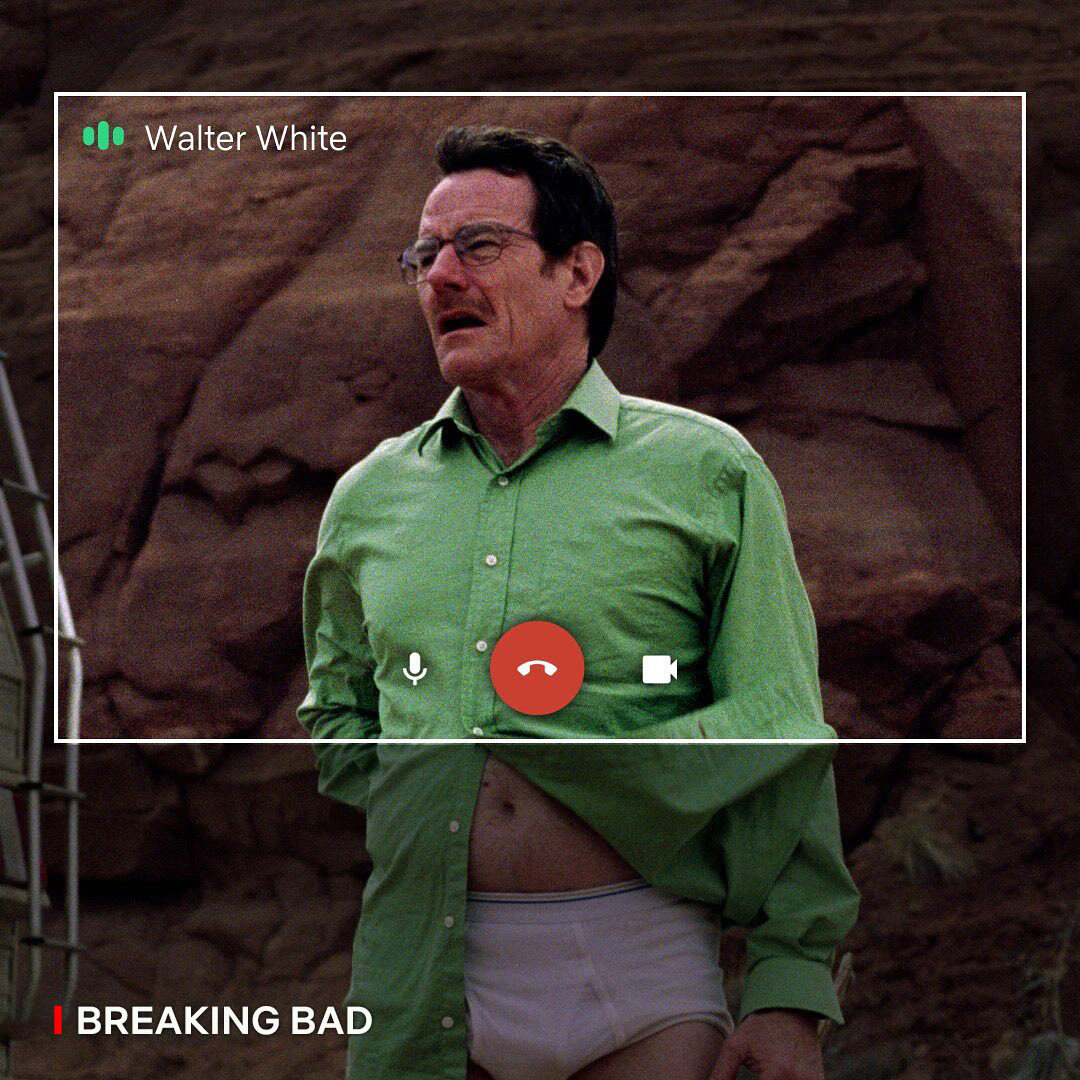 "Walter z ""Breaking Bad"""