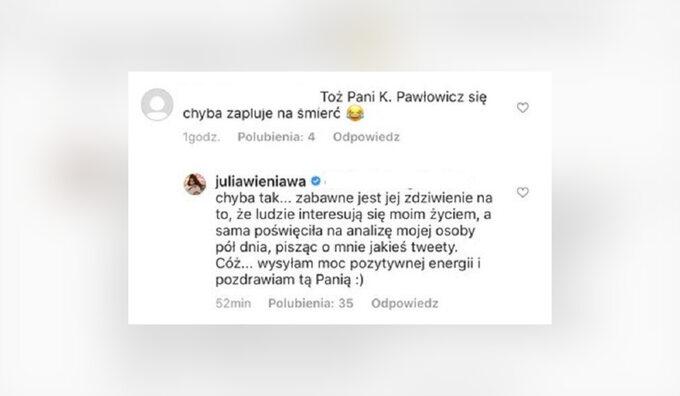 Wieniawa odpowiada Pawłowicz