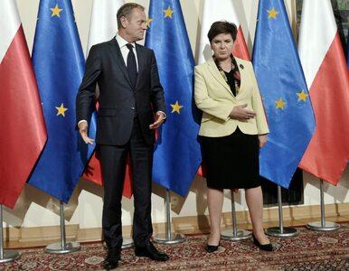 Dlaczego nie odbyła się wspólna konferencja Szydło i Tuska? Rzecznik...