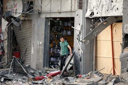 Dramatyczne zdjęcia ze zbombardowanej Strefy Gazy