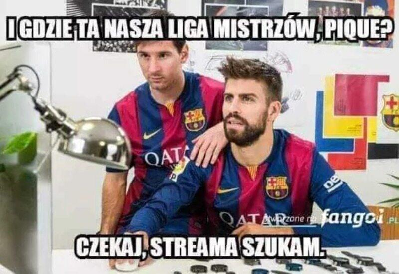 Memy po półfinale Ligi Mistrzów