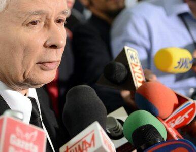 Kaczyński: w PO czują paniczny strach