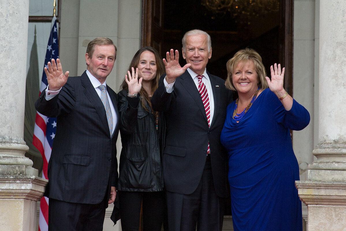 Ashley Biden i Joe Biden