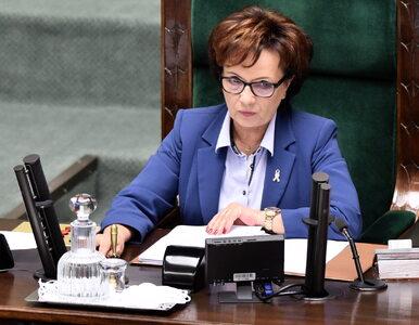 Elżbieta Witek o sprawie Jadwigi Emilewicz: Politycy, którzy są na...