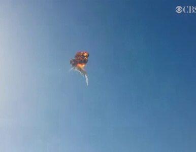 Rakieta wybuchła podczas próbnego lotu w Teksasie