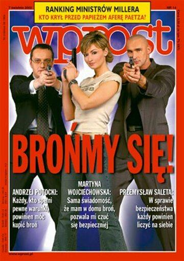 Okładka tygodnika Wprost nr 14/2002 (1010)