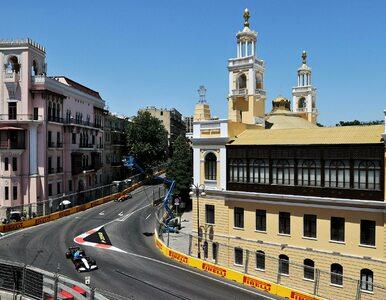 Baku pokazało prawdziwą naturę torów ulicznych. Czterech kierowców...