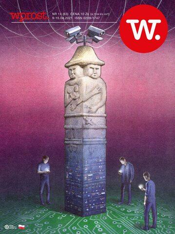 Okładka tygodnika Wprost nr 14/2021 (1979)