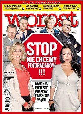 Okładka tygodnika Wprost nr 3/2013 (1560)