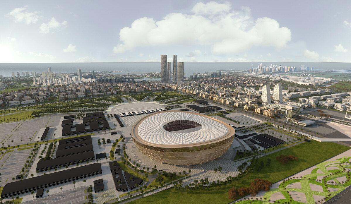 Lusail Stadium Stadion w Lusail