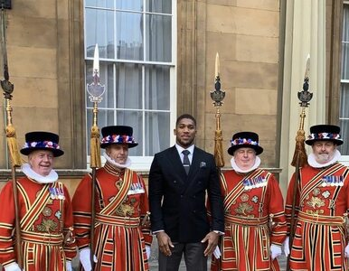 Bokser Anthony Joshua został Oficerem Orderu Imperium Brytyjskiego....