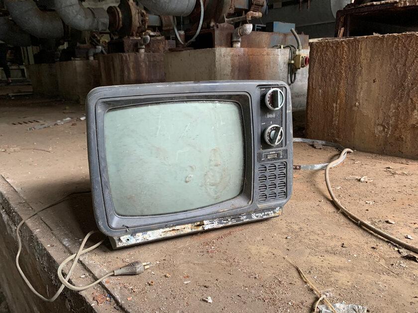Stary telewizor, zdjęcie ilustracyjne