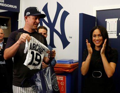 """Harry i Meghan na meczu baseballu. Księżna spotkała """"kuzyna""""..."""
