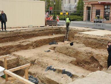 W centrum Poznania natrafiono na pozostałości olbrzymiego kościoła....