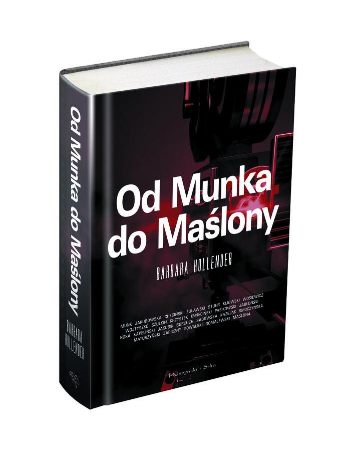 Od Munka do Maślony - nowa książka Barbary Hollender