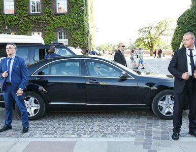 """BOR ujawnił, jak zabezpieczone są auta dla VIP-ów. """"Jakby ktoś wystawiał..."""