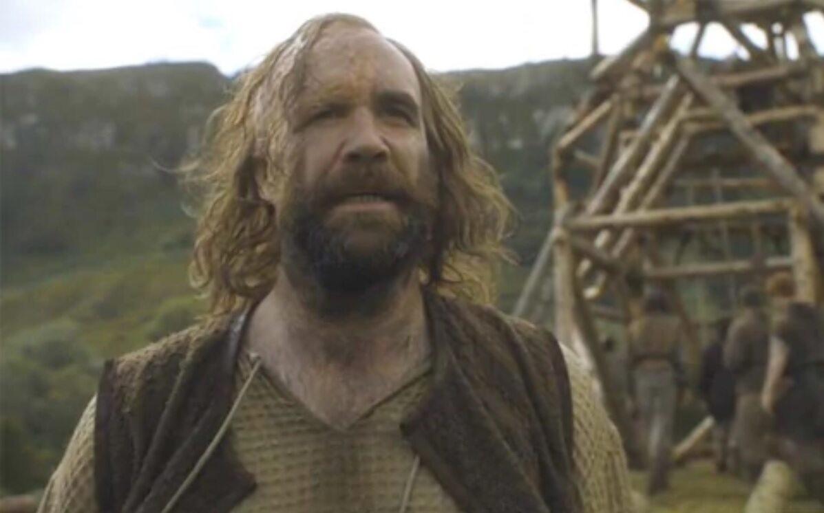 """Ogar po raz pierwszy w serialu """"Gra o tron"""" W postać wciela się aktor Rory McCann."""