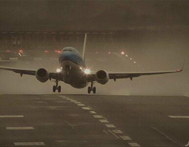 Chwile grozy na nagraniu z lotniska w Newcastle. Samoloty walczą z...