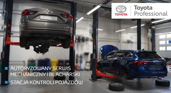 Toyota Professional Wesoła – autoryzowany serwis mechaniczny iblacharski, Stacja Kontroli Pojazdów